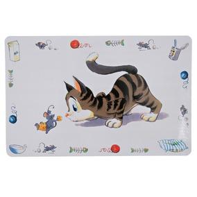 "NAPRON P/ GAMELA DE GATOS ""COMICAL CAT"" -0"