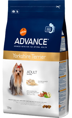 ADVANCE CÃO YORKSHIRE ADULT 1,5KG-0