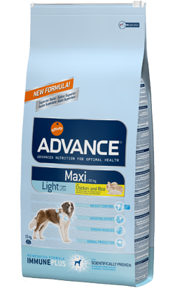 ADVANCE CÃO MAXI LIGHT 15KG-0
