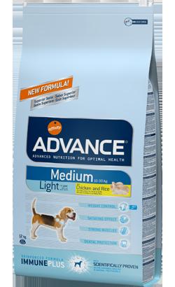 ADVANCE CÃO MEDIUM LIGHT -0