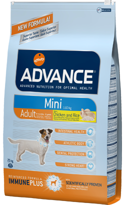 ADVANCE CÃO MINI ADULT FRANGO E ARROZ-0