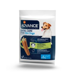 ADVANCE CÃO SNACKS DENTAL CARE MINI - 90 GR (7 UND.)-0