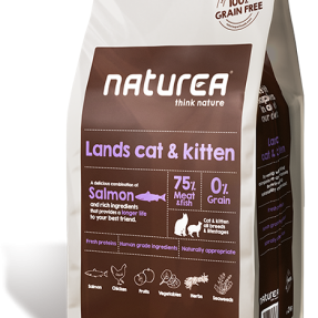 NATUREA LANDS CAT & KITTEN RABBIT, CHICKEN, SALMON AND HERRING-0