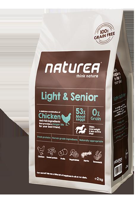 NATUREA LIGHT & SENIOR CHICKEN-0