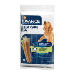 ADVANCE CÃO SNACKS DENTAL CARE - 180 GR (7 UND.)-0