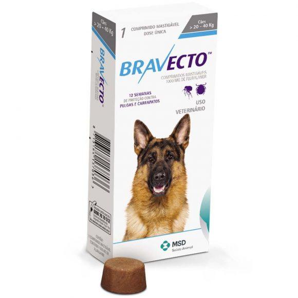 BRAVECTO P/ CÃES 20 - 40KG-0