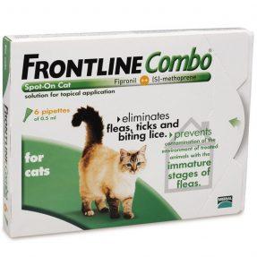 FRONTLINE COMBO GATO 3 PIPETAS-0