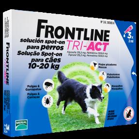 FRONTLINE TRI-ACT CÃO 10-20KG-0