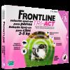 FRONTLINE TRI-ACT CÃO 2-5KG-0