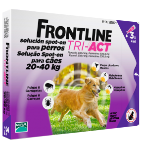 FRONTLINE TRI-ACT CÃO 20-40KG-0