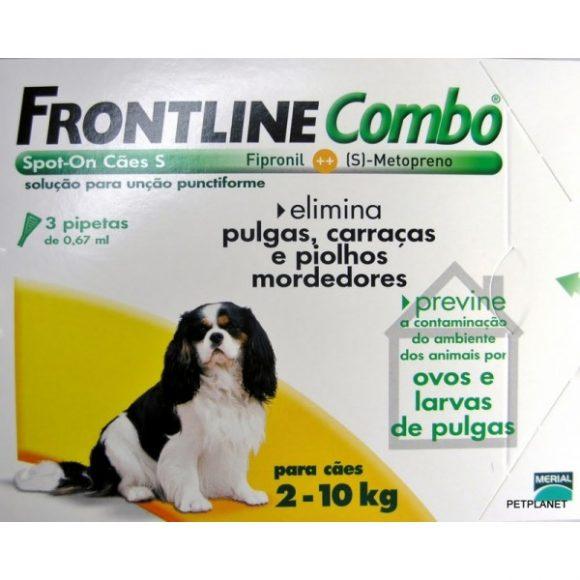 FRONTLINE COMBO CÃO 2-10KG / 3 PIPETAS-0