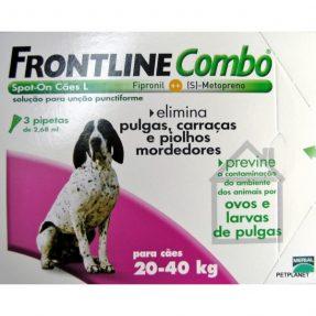 FRONTLINE COMBO CÃO 20-40KG / 3 PIPETAS-0