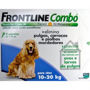 FRONTLINE COMBO CÃO 10-20KG / 3 PIPETAS-0