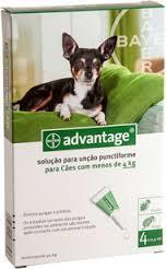 ADVANTAGE CÃO 40 - 0 A 4KG (4 PIPETAS)-0