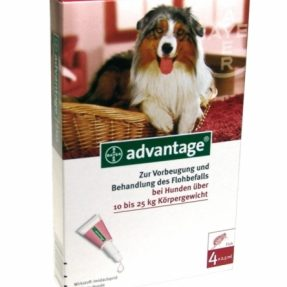 ADVANTAGE CÃO 250 - 10 A 25KG (4 PIPETAS)-0