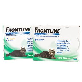FRONTLINE SPOT ON GATO (3 PIPETAS)-0