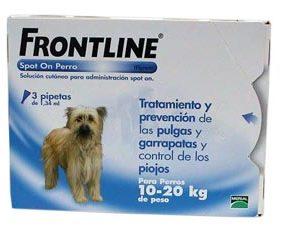 FRONTLINE SPOT ON 10-20KG (3 PIPETAS)-0