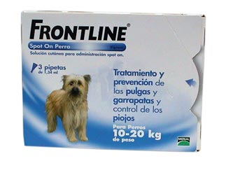 FRONTLINE SPOT ON 10-20KG (3 PIPETAS)-0