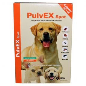 PULVEX SPOT ON CÃO 6X1 ML-0
