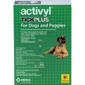 ACTIVYL TICK PLUS 900 MG + 2880 MG - CÃES (40 A 60 KG) (4 PIPETAS)-0