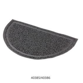 TAPETE SEMI-CIRCULAR EM PVC P/ WC (ANTRACITE) -0
