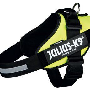 "PEITORAL ""JULIUS-K9 IDC"" (AMARELO NEON)-0"