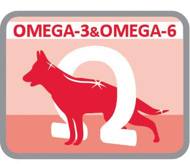 Para o cuidado do pêlo e da pele pelo alto conteúdo em Omega3 e Omega6