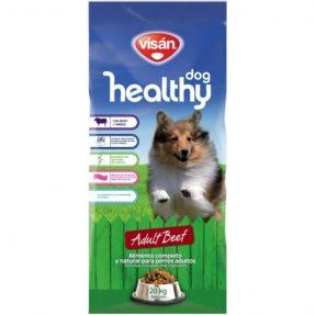 VISAN HEALTHY DOG BEEF 15KG-0