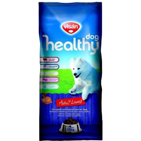 VISAN HEALTHY DOG LAMB 15KG-0