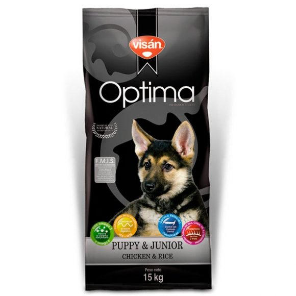 VISAN OPTIMA PUPPY & JUNIOR CHICKEN & RICE-0