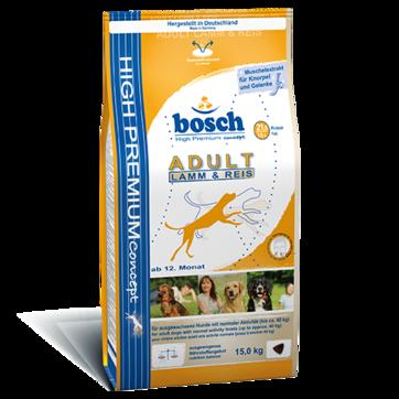 Bosch Adult lamb & Rice-0