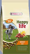 VERSELE LAGA HAPPY LIFE ADULT BEEF 15KG-0