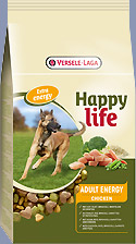 VERSELE LAGA HAPPY LIFE ADULT CHICKEN ENERGY 15KG-0