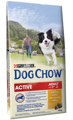 PURINA DOG CHOW ACTIVE FRANGO 14KG-0