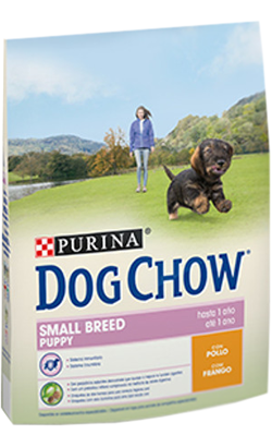 PURINA DOG CHOW SMALL BREED PUPPY FRANGO 2,5KG-0