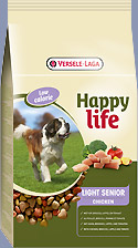 VERSELE LAGA HAPPY LIFE LIGHT SENIOR CHICKEN 15KG-0