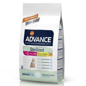 ADVANCE GATO STERILIZED +10 ANOS - 1,5KG-0