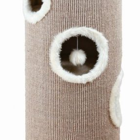 CAT TOWER EDOARDO 40 CM (CASTANHO/CREME) -0