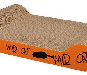 "ARRANHADOR ""WILD CAT"" EM CARTAO (para o chao) (LARANJA) -0"