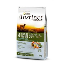 INSTINCT NO GRAIN COM SALMÃO MEDIUM/MAXI - ADULT-0
