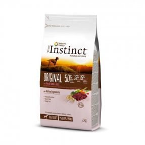 INSTINCT ORIGINAL BORREGO COM AVEIA MEDIUM/MAXI - ADULT 12KG-0