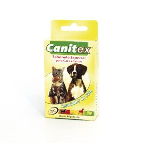 CANITEX - SABONETE ESPECIAL P/ CAES E GATOS-0